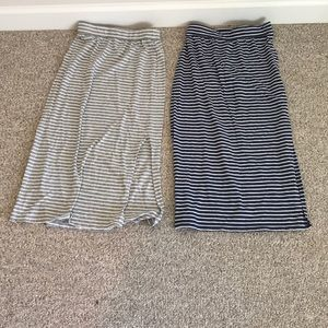 Bundle of Two Old Navy Skirts Size L